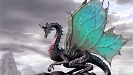 dragon, wings, fantastic