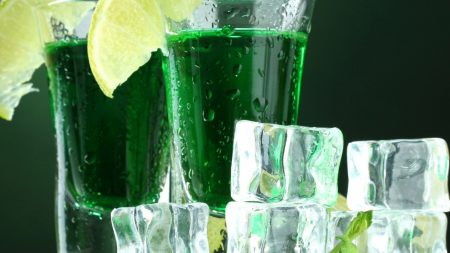 drink, glasses, ice