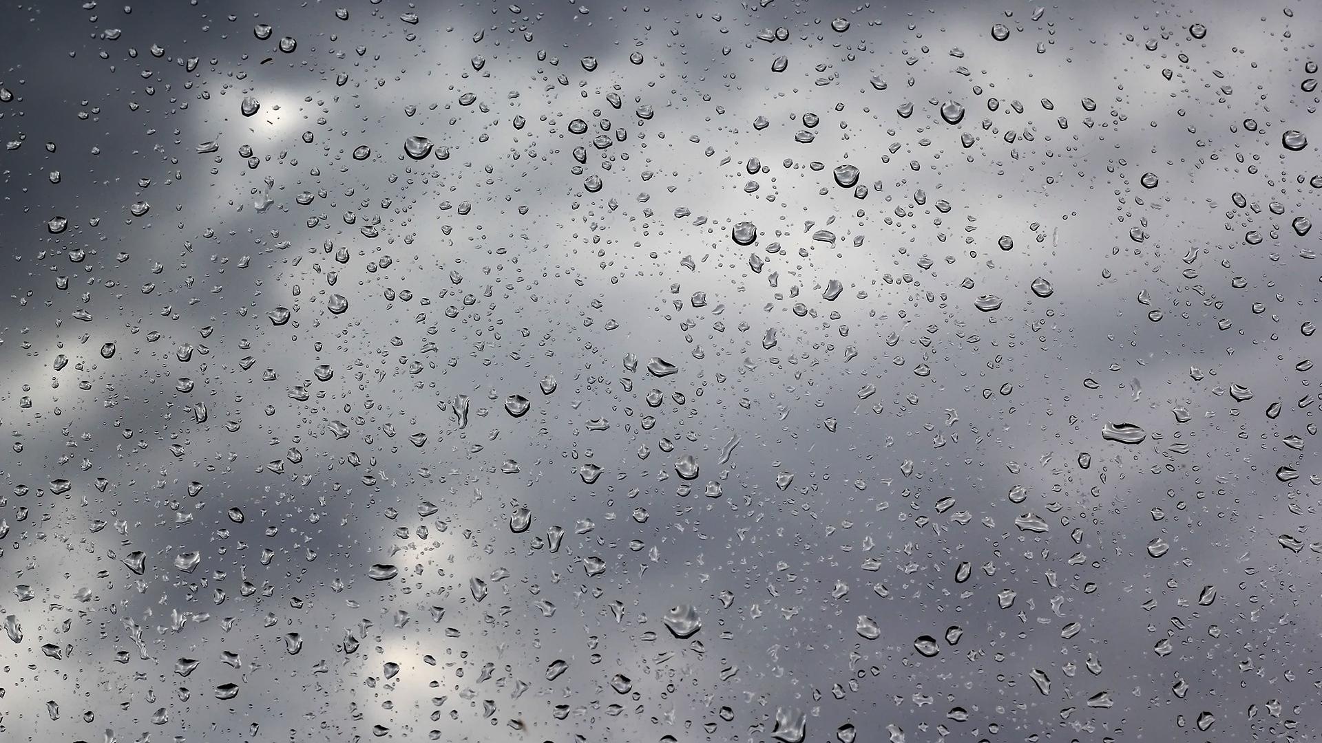 Design Rain Glass download wallpaper 1920x1080 drops rain glass water clouds glass