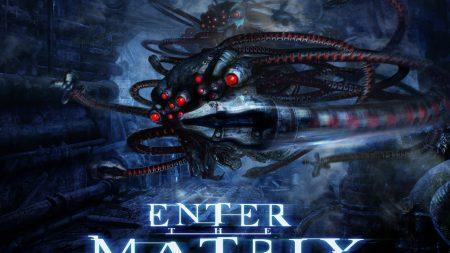 enter the matrix, matrix, hunter