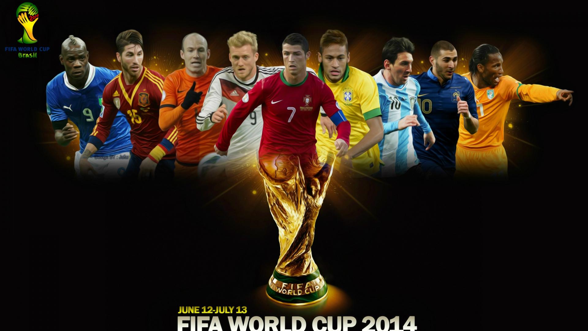 download wallpaper 1920x1080 fifa world cup, brazil, 2014, football