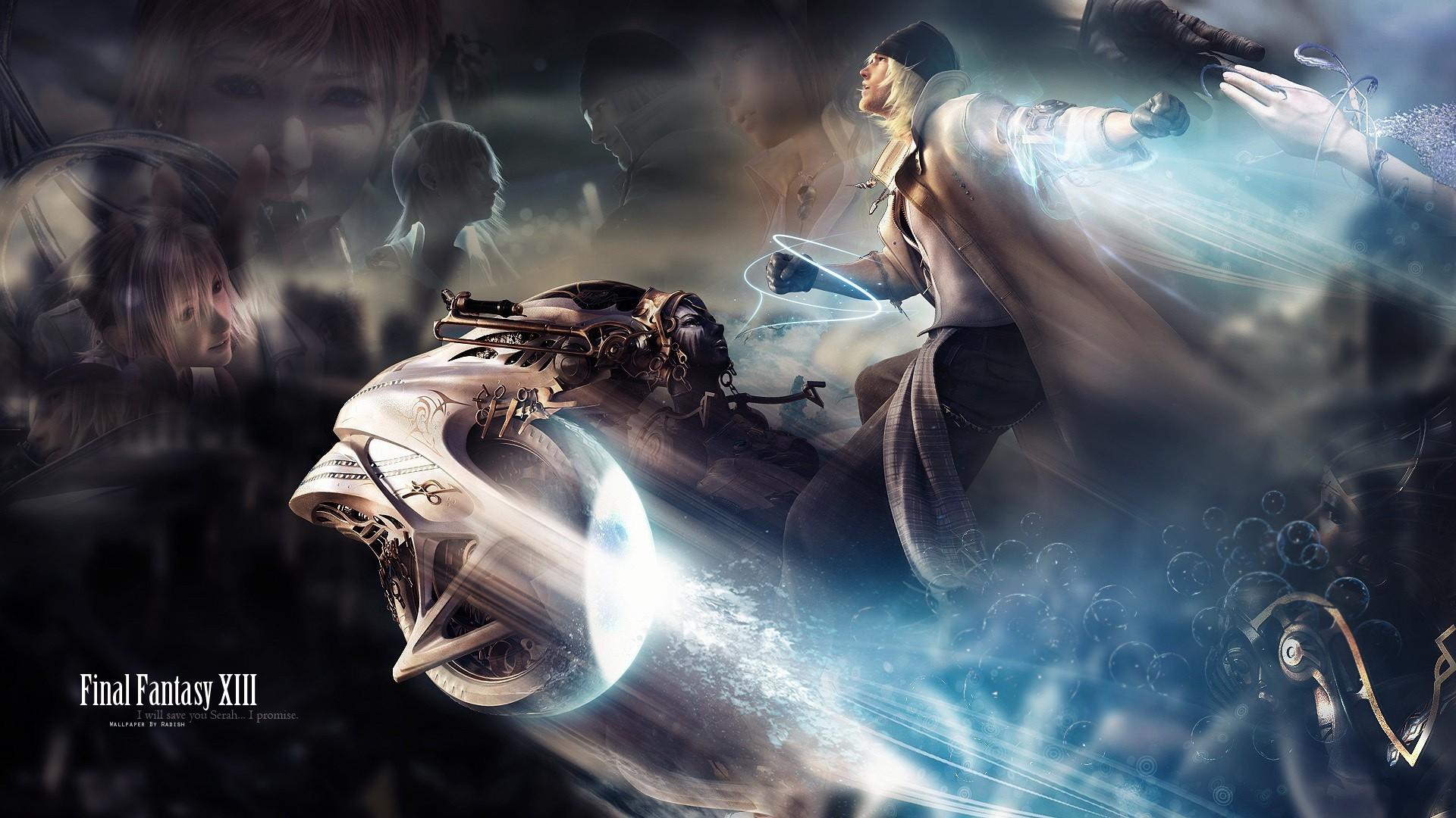 Download Wallpaper 1920x1080 Final Fantasy Xiii Character Magic