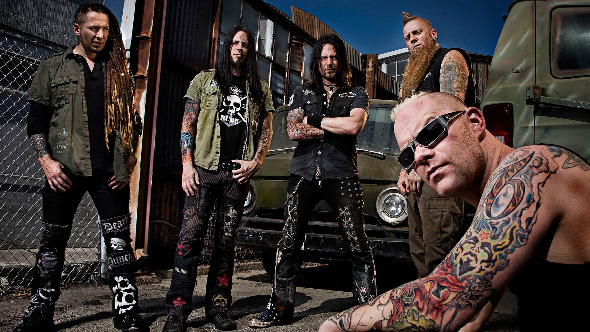 Five Finger Death Punch Tattoo Cars