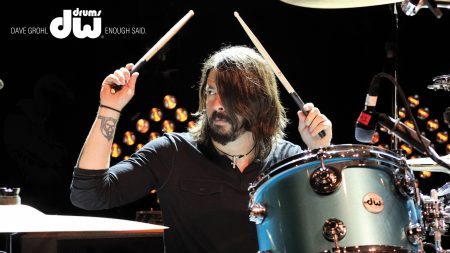 foo fighters, drum, member