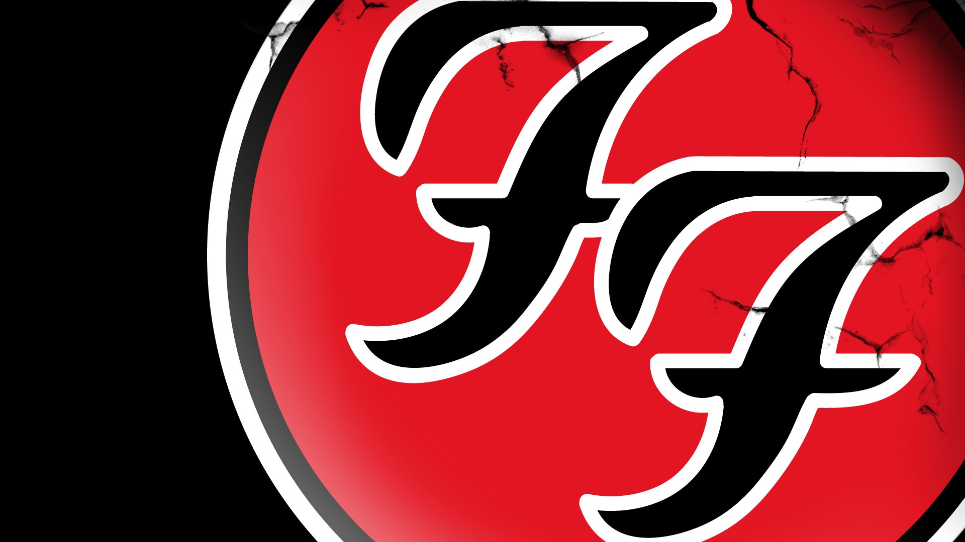 Download Wallpaper 1920x1080 Foo Fighters Symbol Icon Name