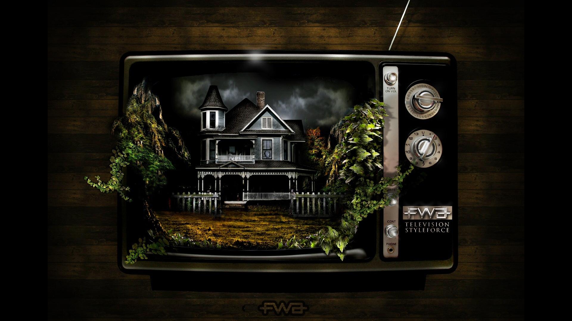 Download Wallpaper 1920x1080 Fwa Dark Television Figure Creative