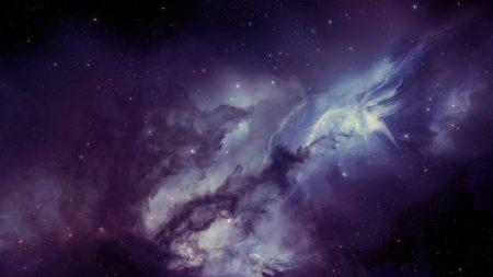 galaxy, nebula, blurring