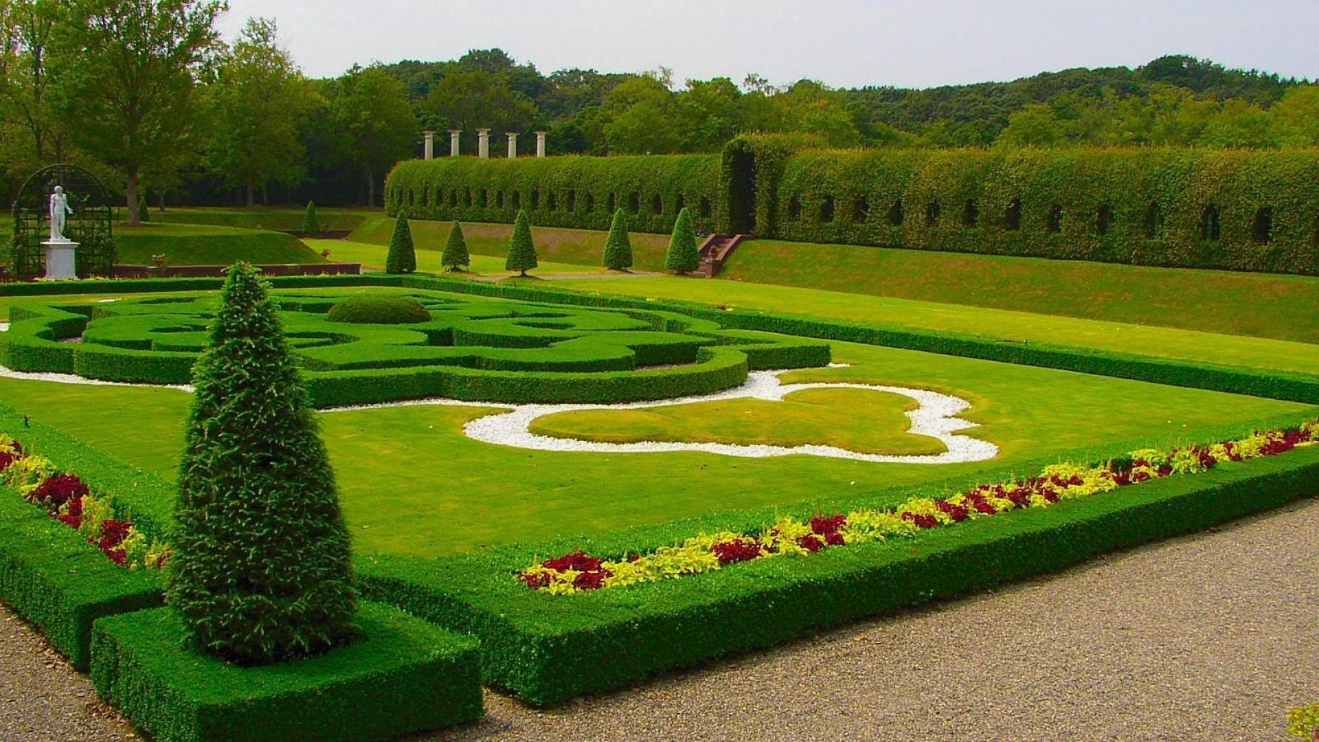 grass garden wallpaper