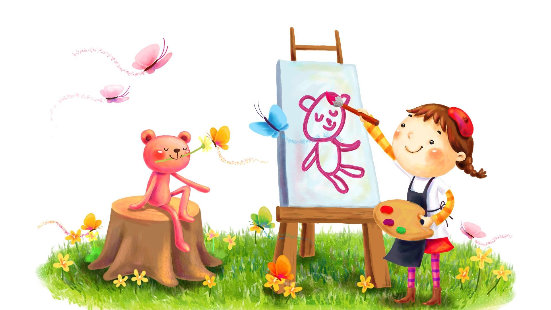 рисунок для детей принцесса