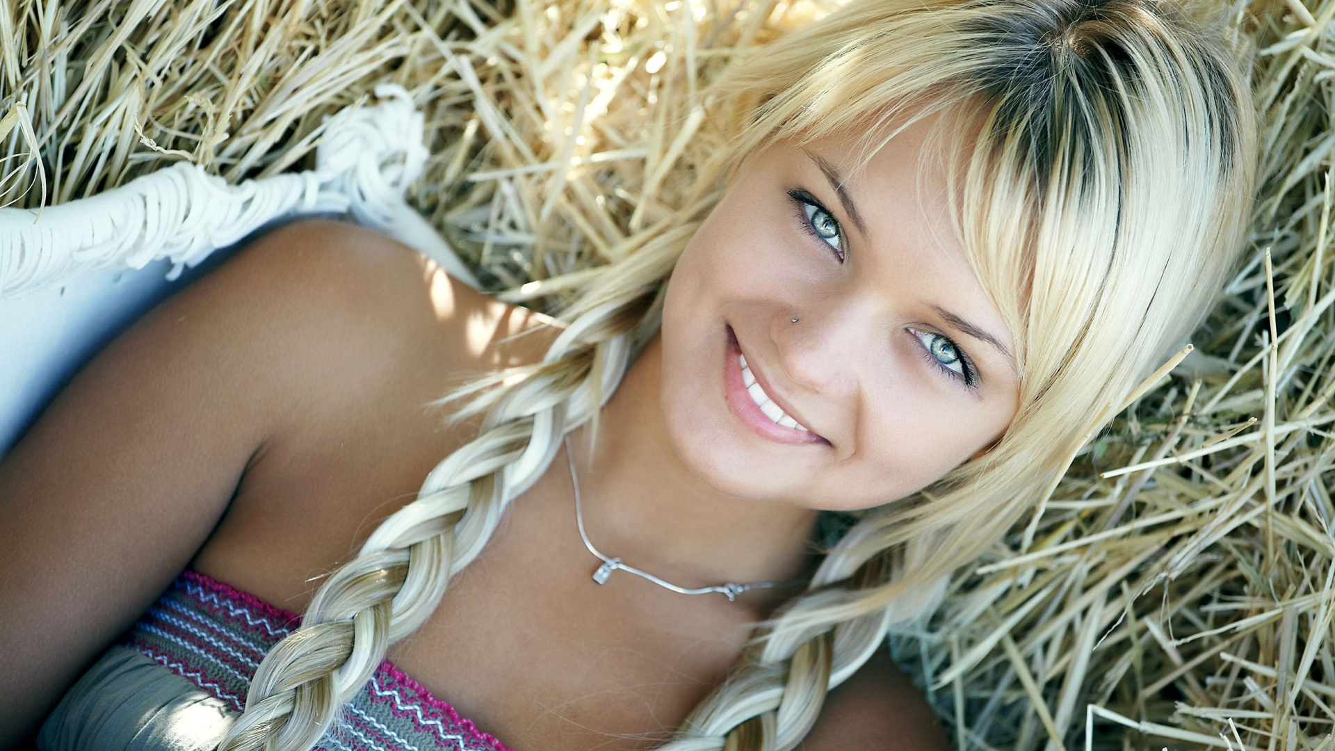 Blonde girl in pigtails, sara stokes nude video