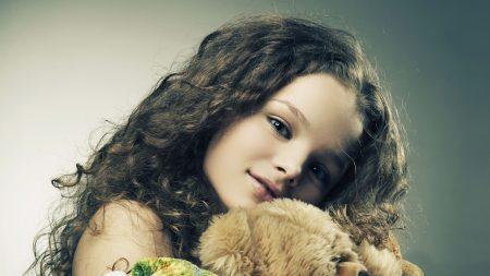 girl, face, hair
