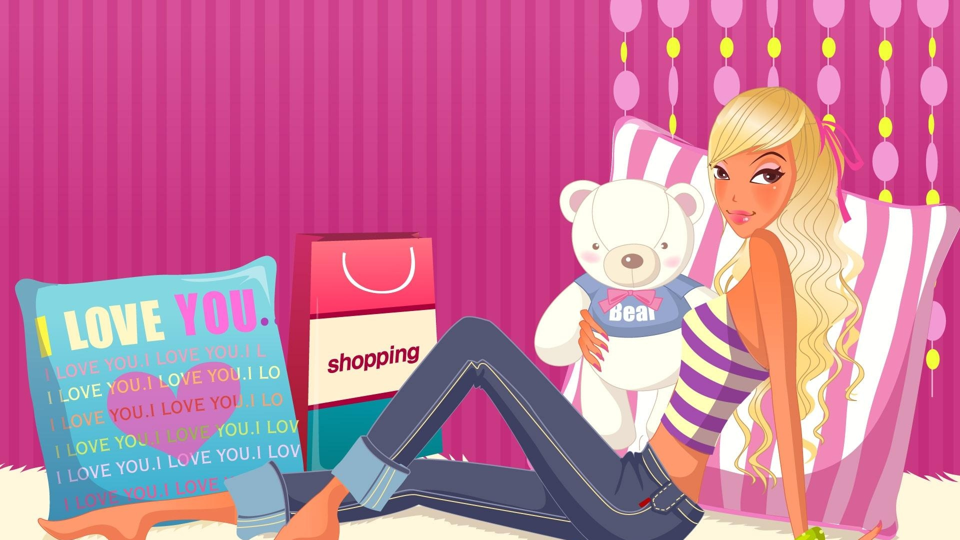 Gril Toy For Teenager : Download wallpaper girl teenager toy room