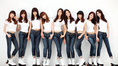 girls generation, girls, skates