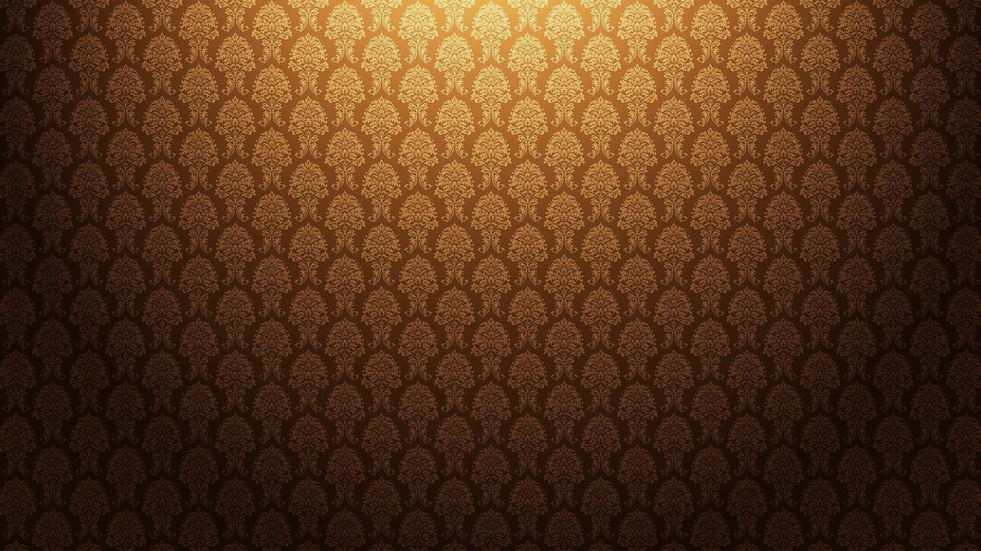 Download Wallpaper 1920x1080 gold, antique, background