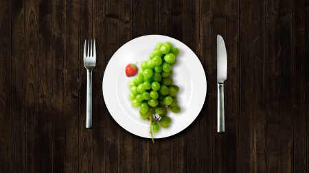 grapes, plate, devices
