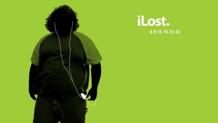 green, black, lost