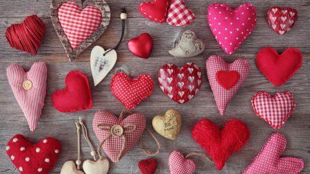 heart, hearts, cushions