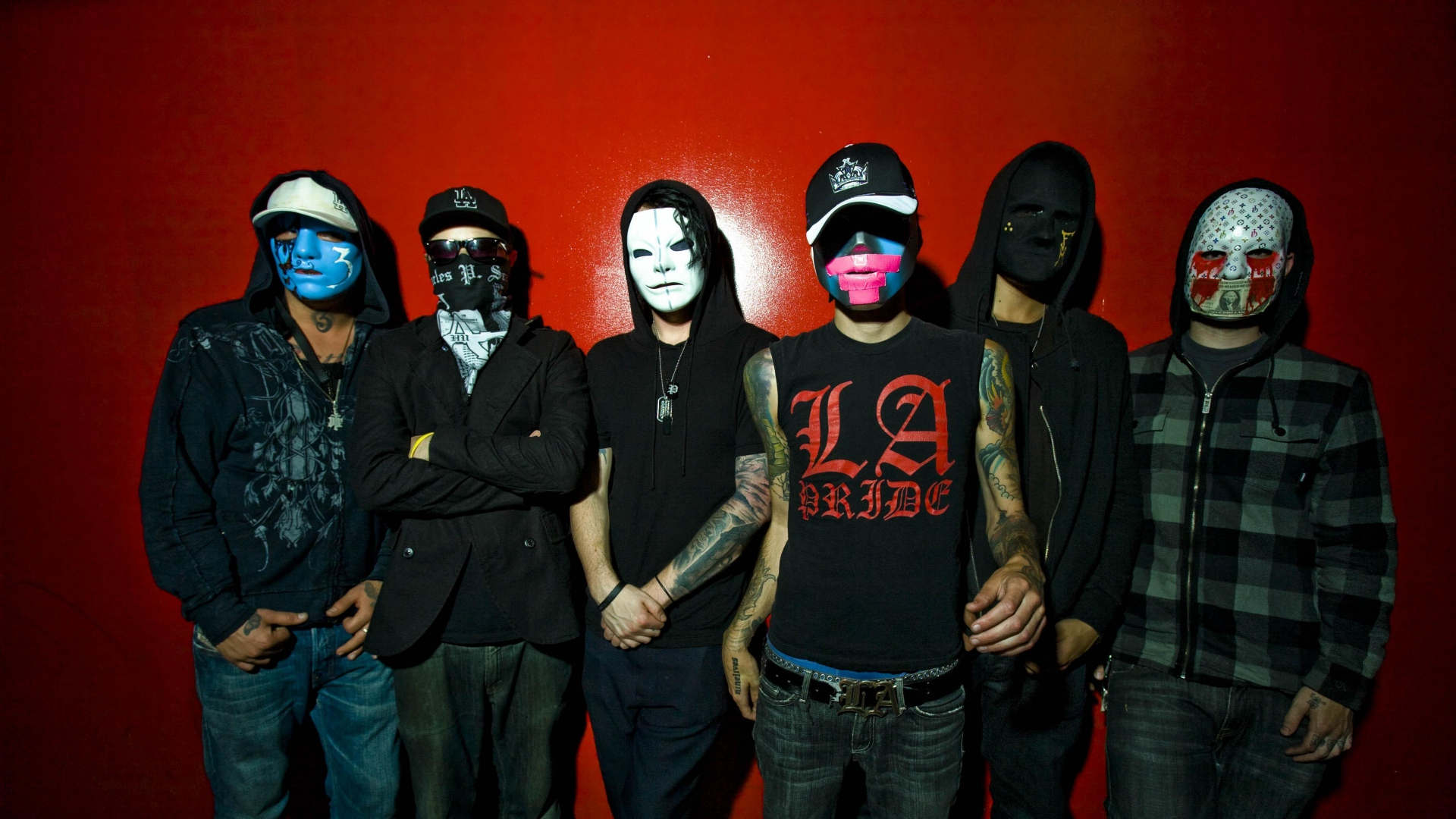 Hollywood Undead Band Members