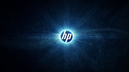 hp, logo, abstract