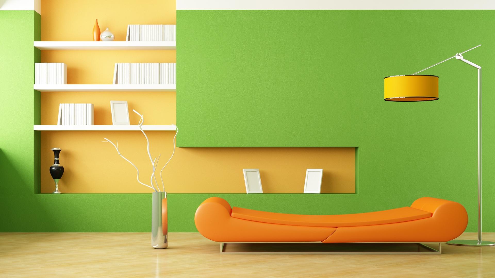 Download Wallpaper 1920x1080 Interior Design Style Minimalism