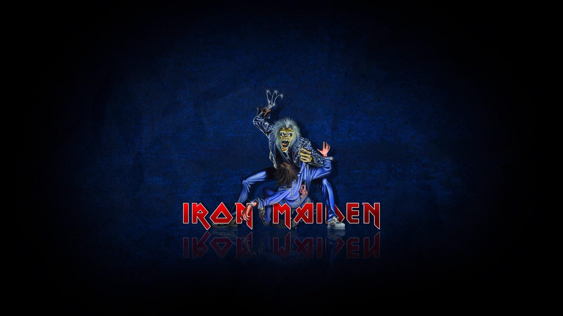 download wallpaper 1920x1080 iron maiden, zombi, victim, darkness