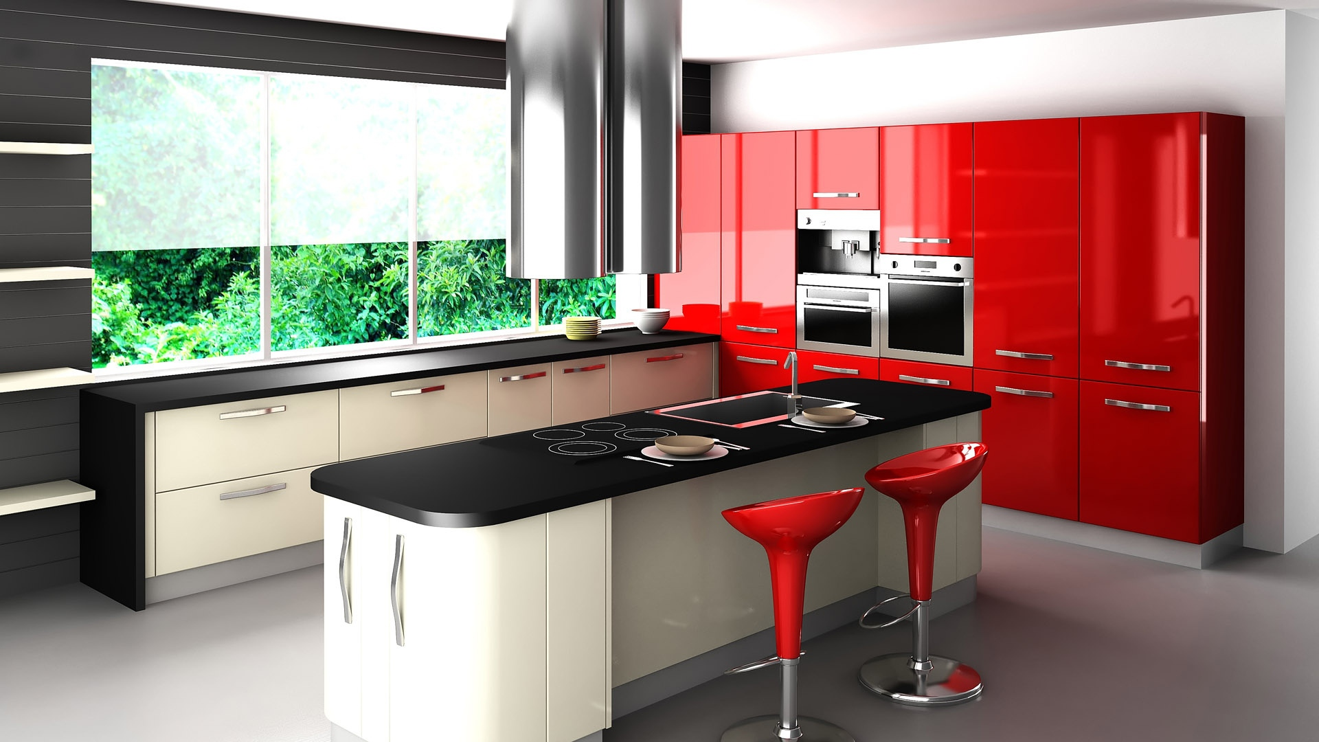 Kitchen Design Hd Images download wallpaper 1920x1080 kitchen design, interior, design full