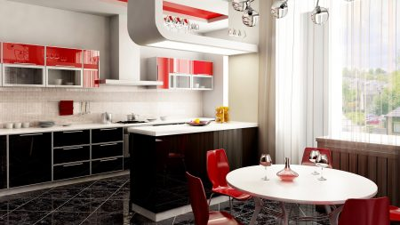 kitchen, furniture, style