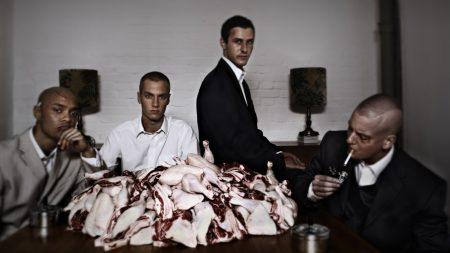 kiz, table, beef