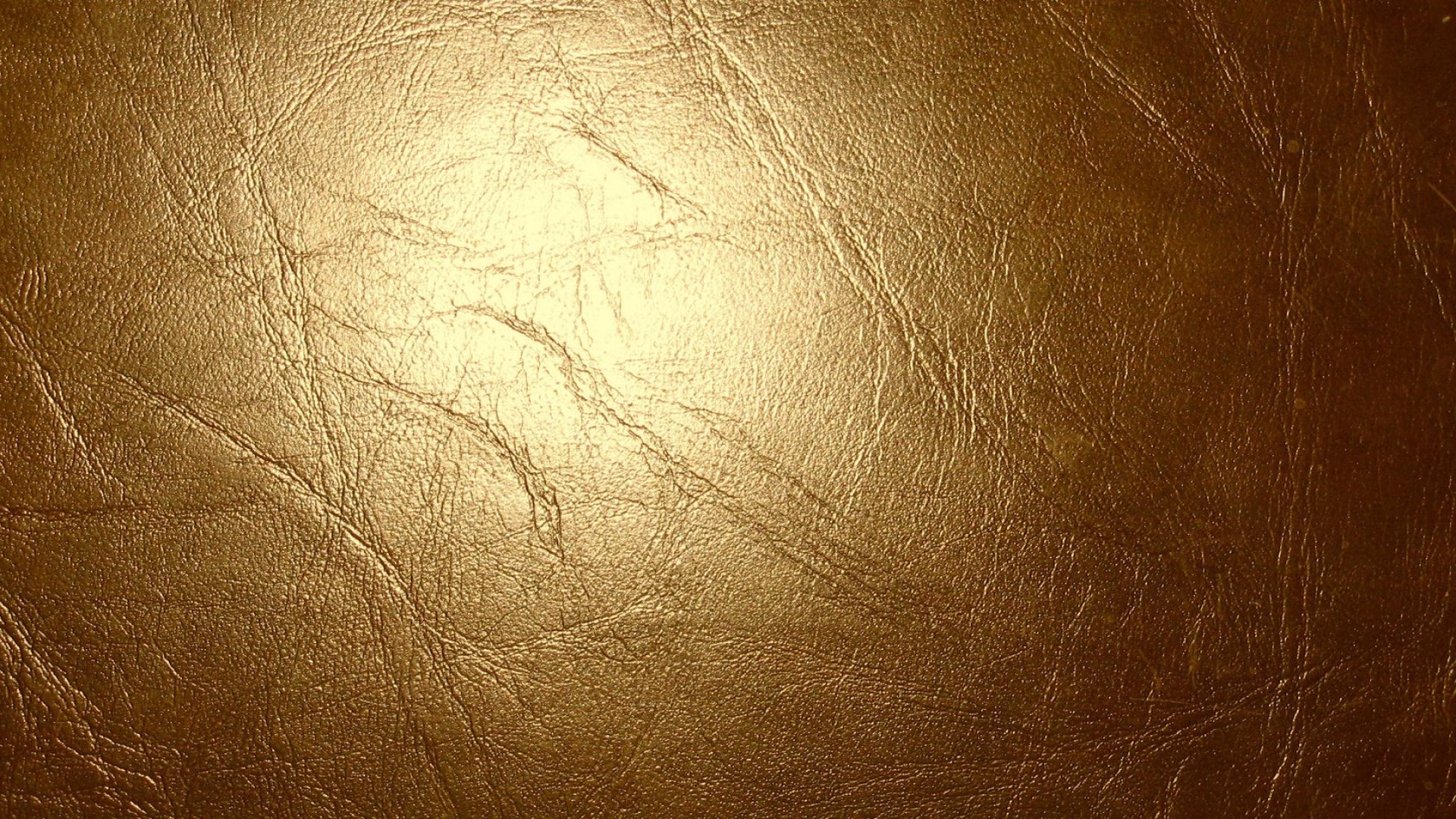 Download Wallpaper 1920x1080 Leather Gold Glitter Cracks Texture