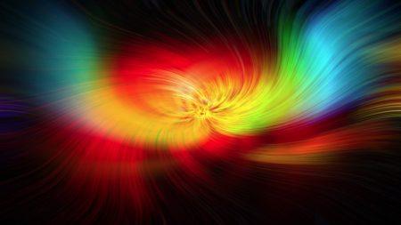 light, pens, rainbow