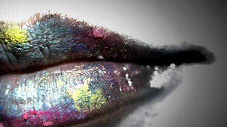 lips, lipstick, creative
