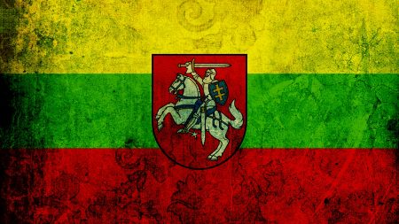 lithuania, flag, texture