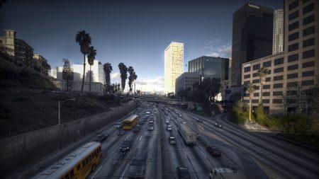 los angeles, city, landscape