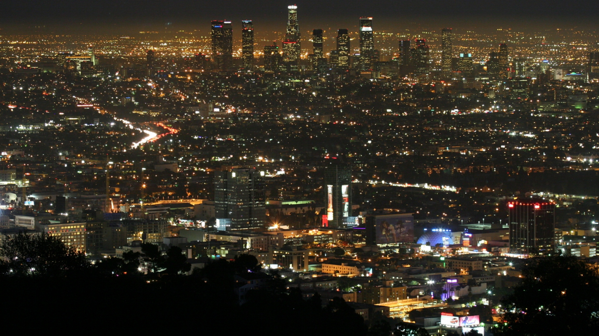 Fantastic Wallpaper Night Los Angeles - los_angeles_night_view_top_view_58639_1920x1080  Photograph-423171.jpg