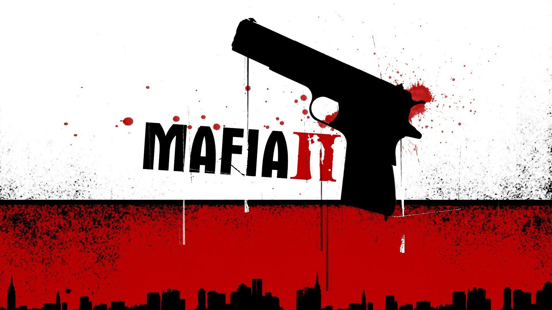 Download Wallpaper 1920x1080 Mafia 2 Pistol Blood City Full Hd