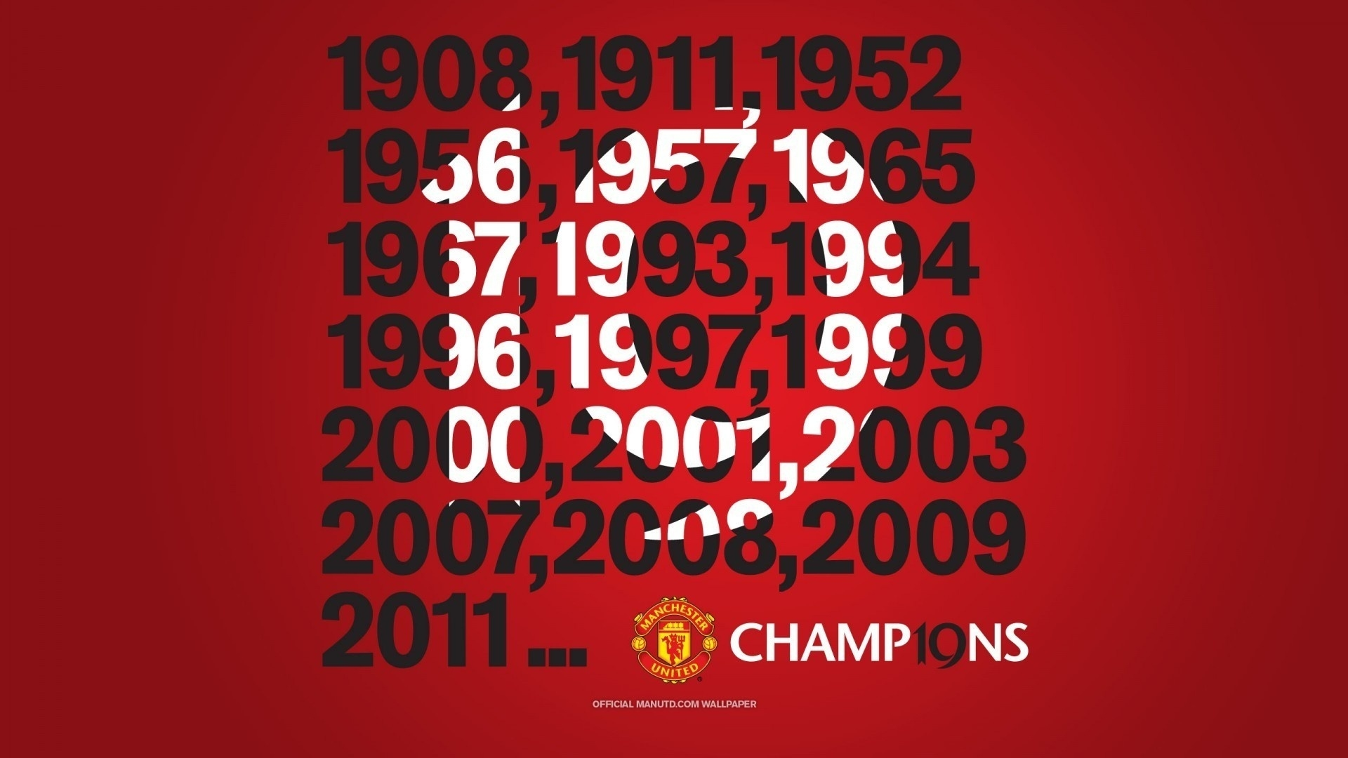 Download wallpaper 1920x1080 manchester united champions year manchester united champions year voltagebd Choice Image
