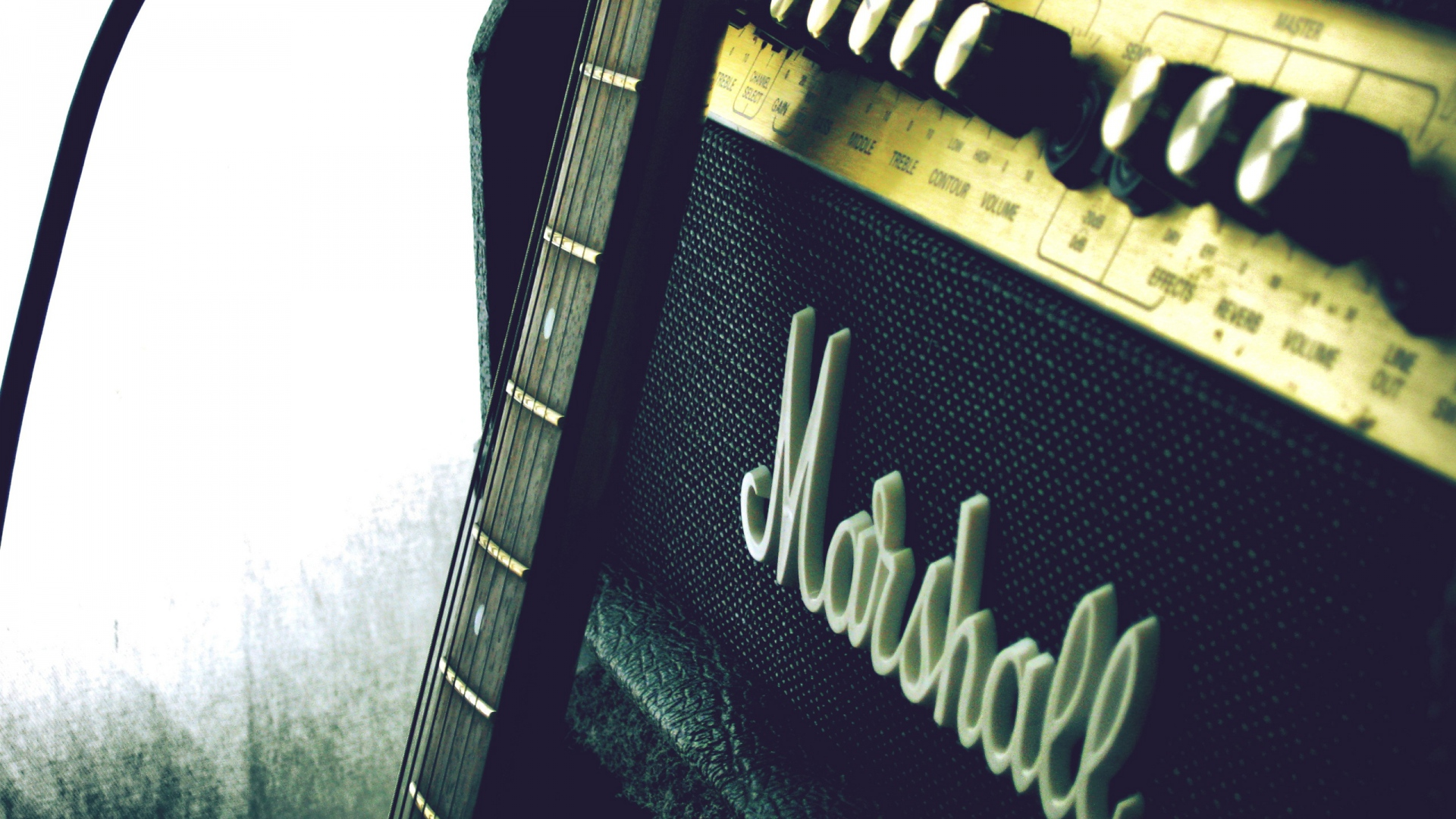download wallpaper 1920x1080 marshall amp guitar full hd