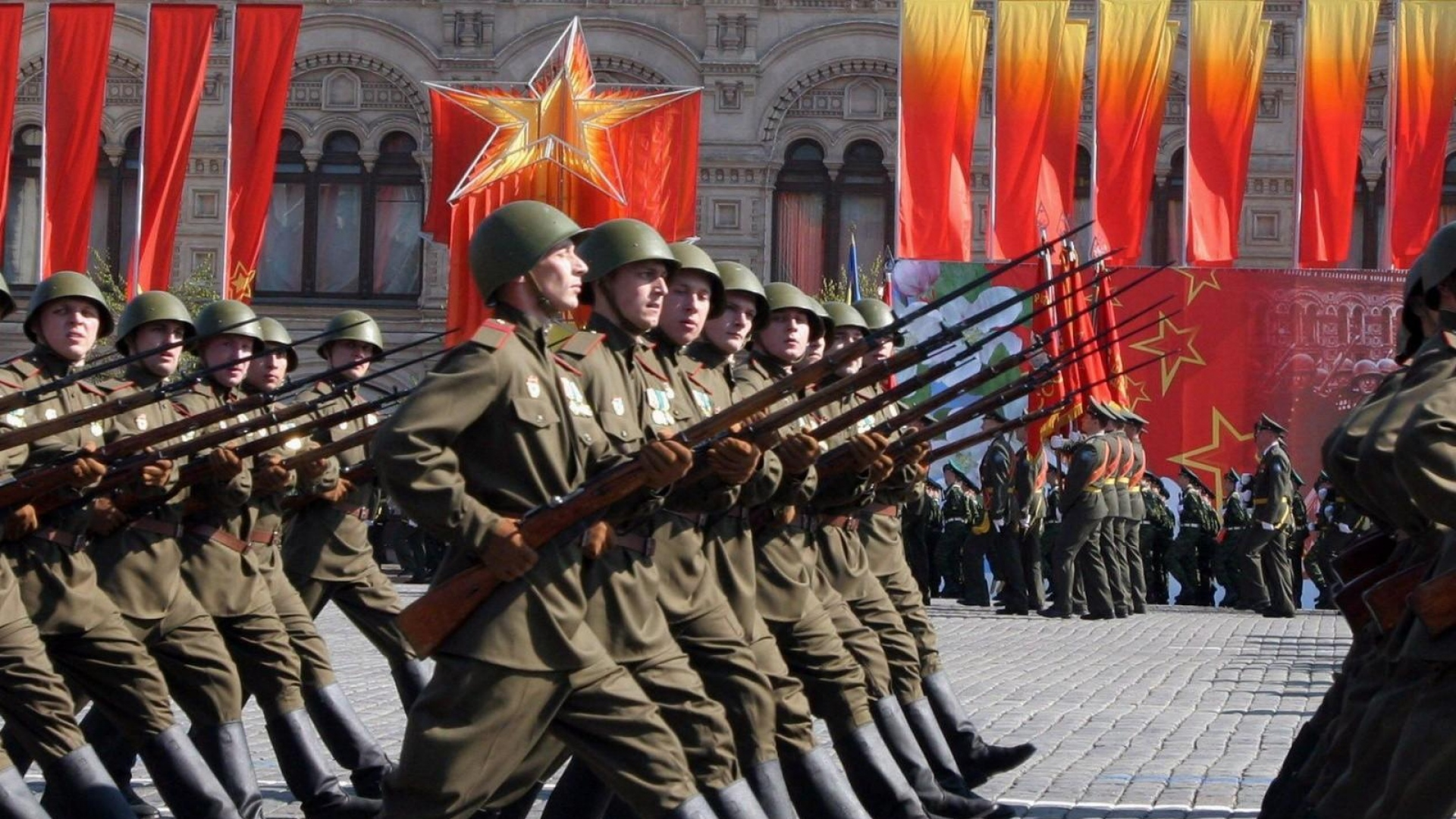 Wallpaper Victory Day Russia Holidays Hd Celebrations: Download Wallpaper 1920x1080 May 9, Victory Day, Holiday