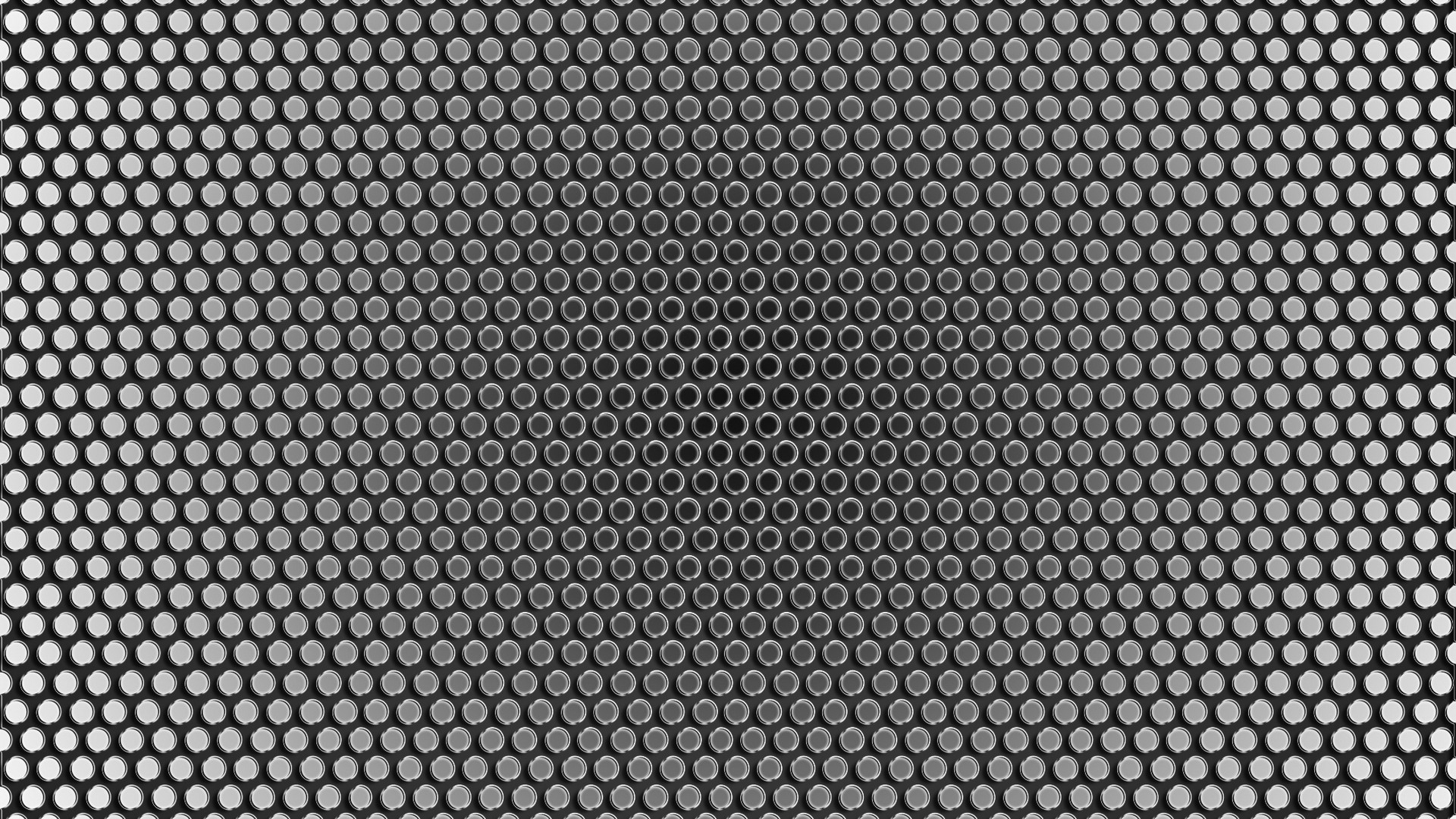 Wallpaper Mesh, Circles, Holes, Metal, Silver HD, Picture, Image