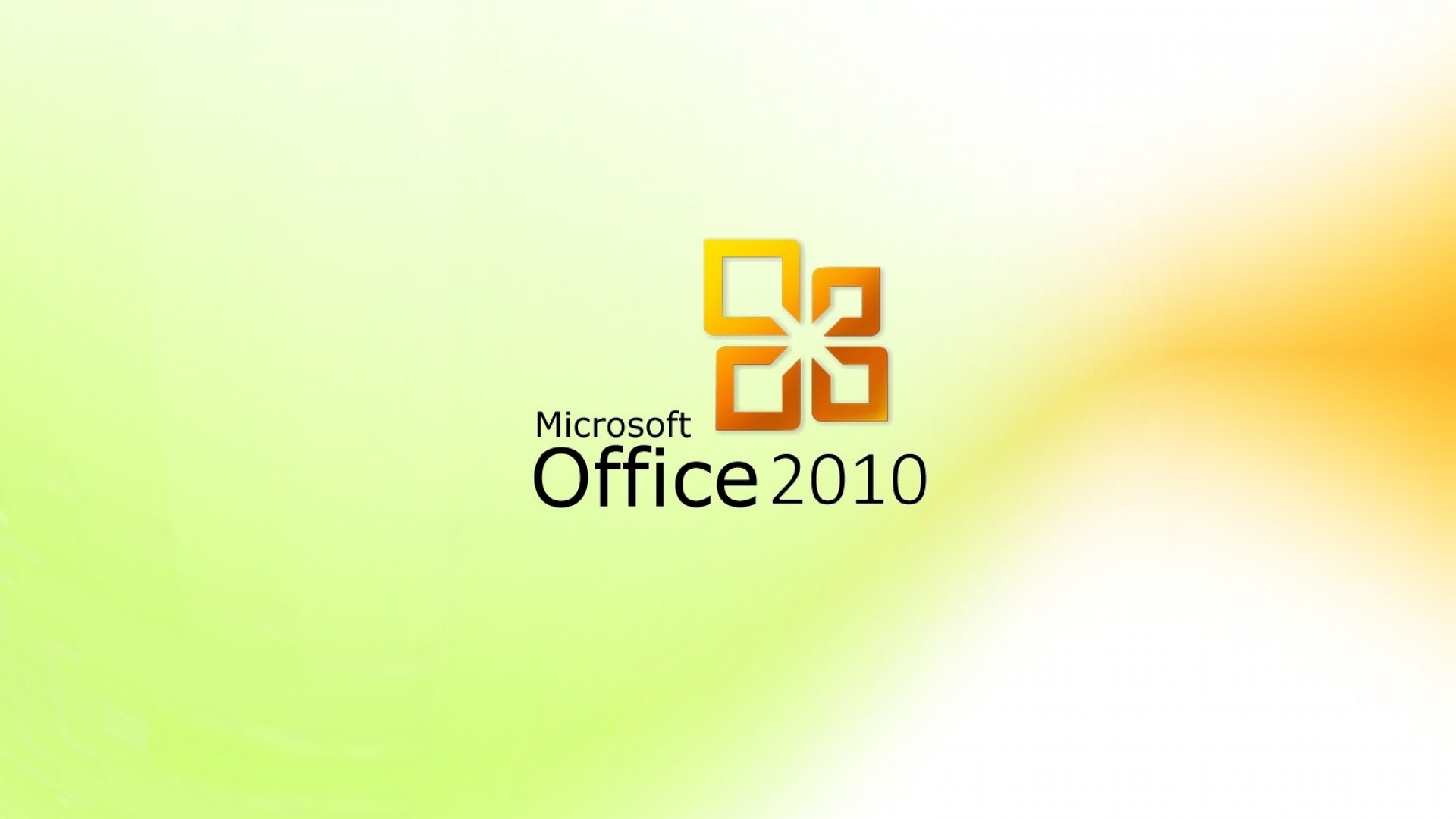 Download Wallpaper 1920x1080 Microsoft Office 2010