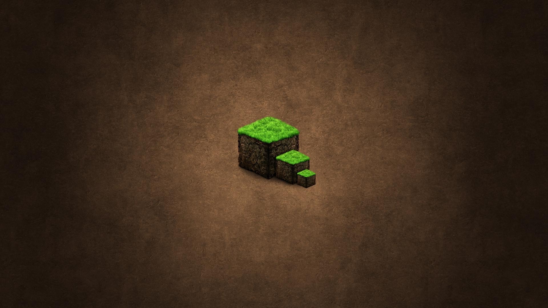 Popular Wallpaper Minecraft Minimalistic - minecraft_ground_background_cube_21196_1920x1080  Snapshot_827153.jpg