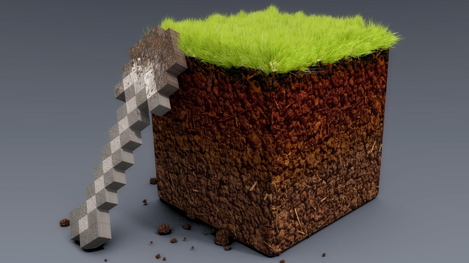 Best Wallpaper Minecraft Real Life - minecraft_ground_grass_cube_21185_1920x1080  Image_321034.jpg