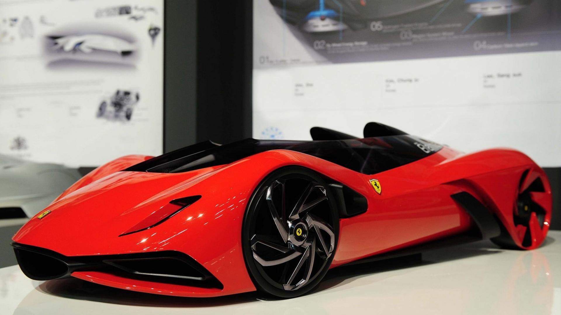 Model, Ferrari, Style