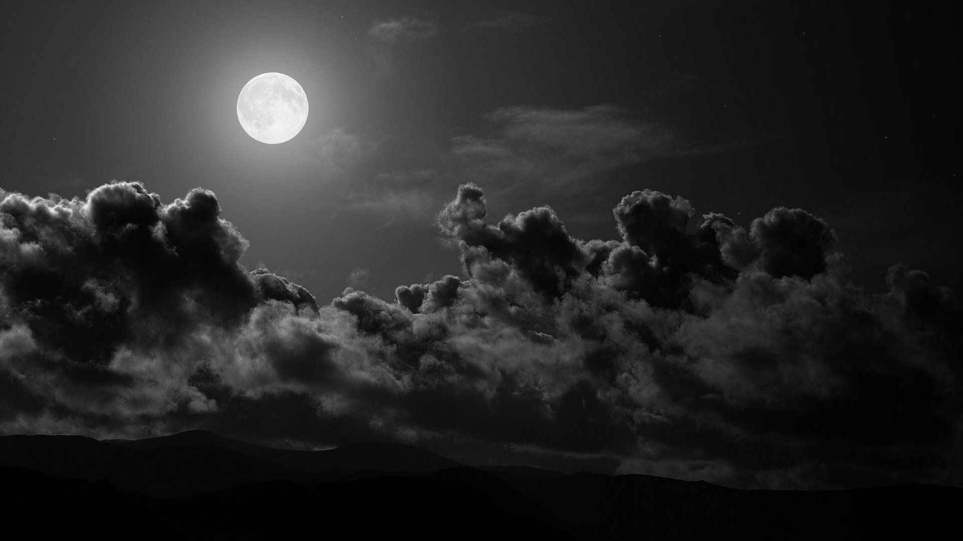 Download wallpaper 1920x1080 moon clouds sky black and white full get the latest moon clouds sky news pictures and videos and learn all about moon clouds sky from wallpapers4u your wallpaper news source voltagebd Gallery