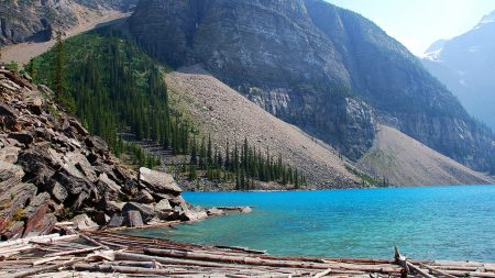 moraine lake, canada, alberta