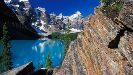 moraine lake, canada, lake