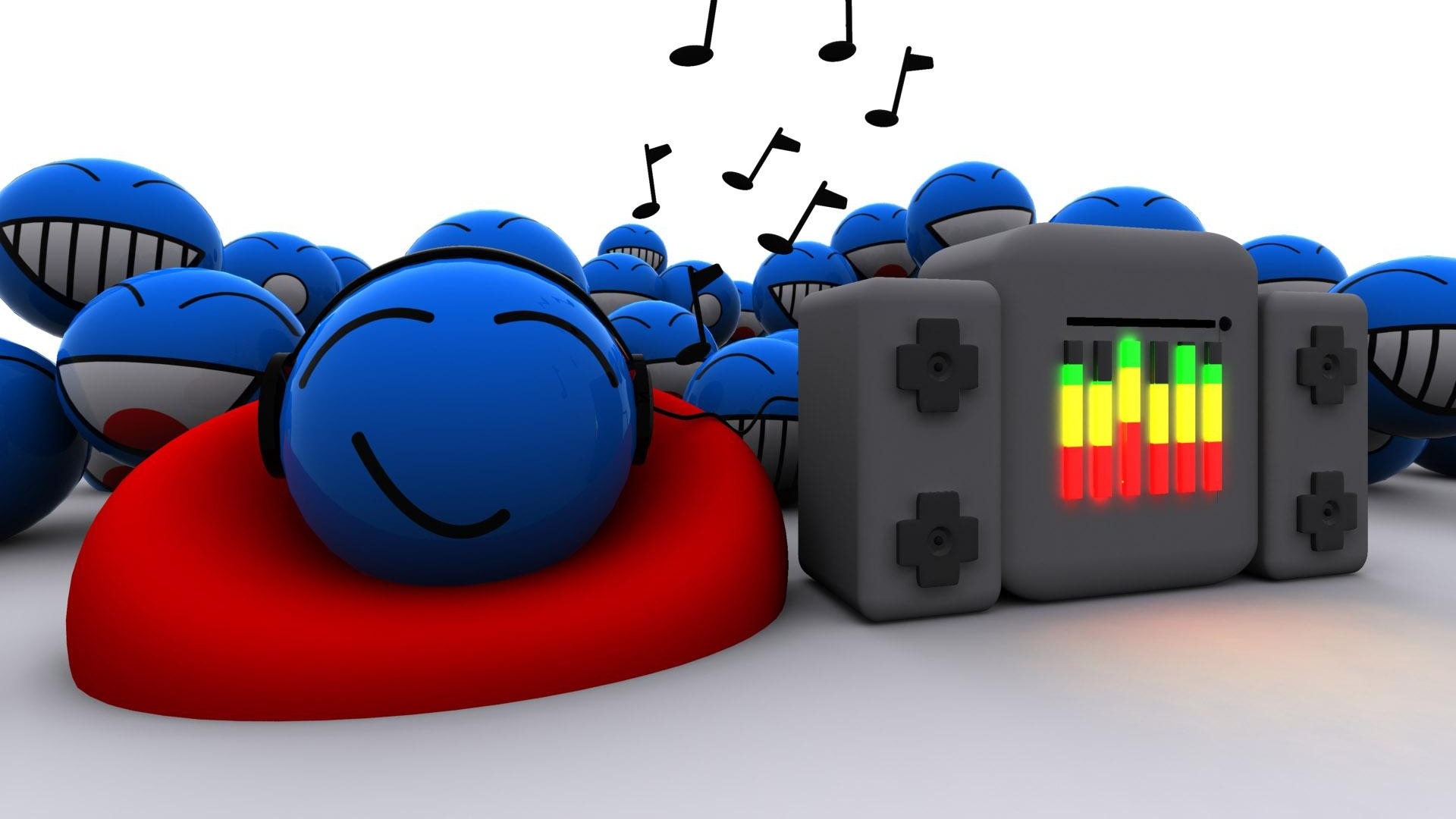 Best Wallpaper Music Bright - music_lovers_music_sound_blue_bright_colorful_14998_1920x1080  Image_798663.jpg