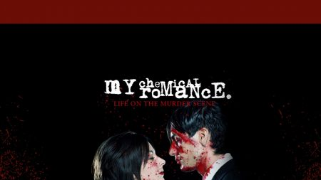 my chemical romance, cover, blood