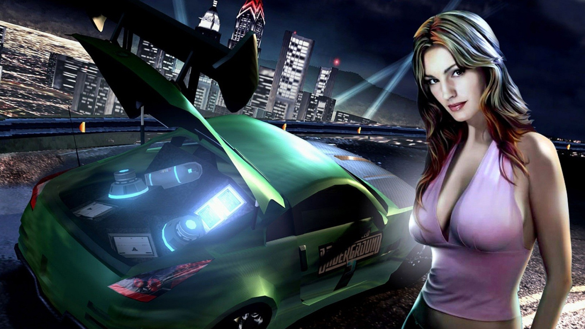 Download Wallpaper 1920x1080 Nfs Need For Speed Girl