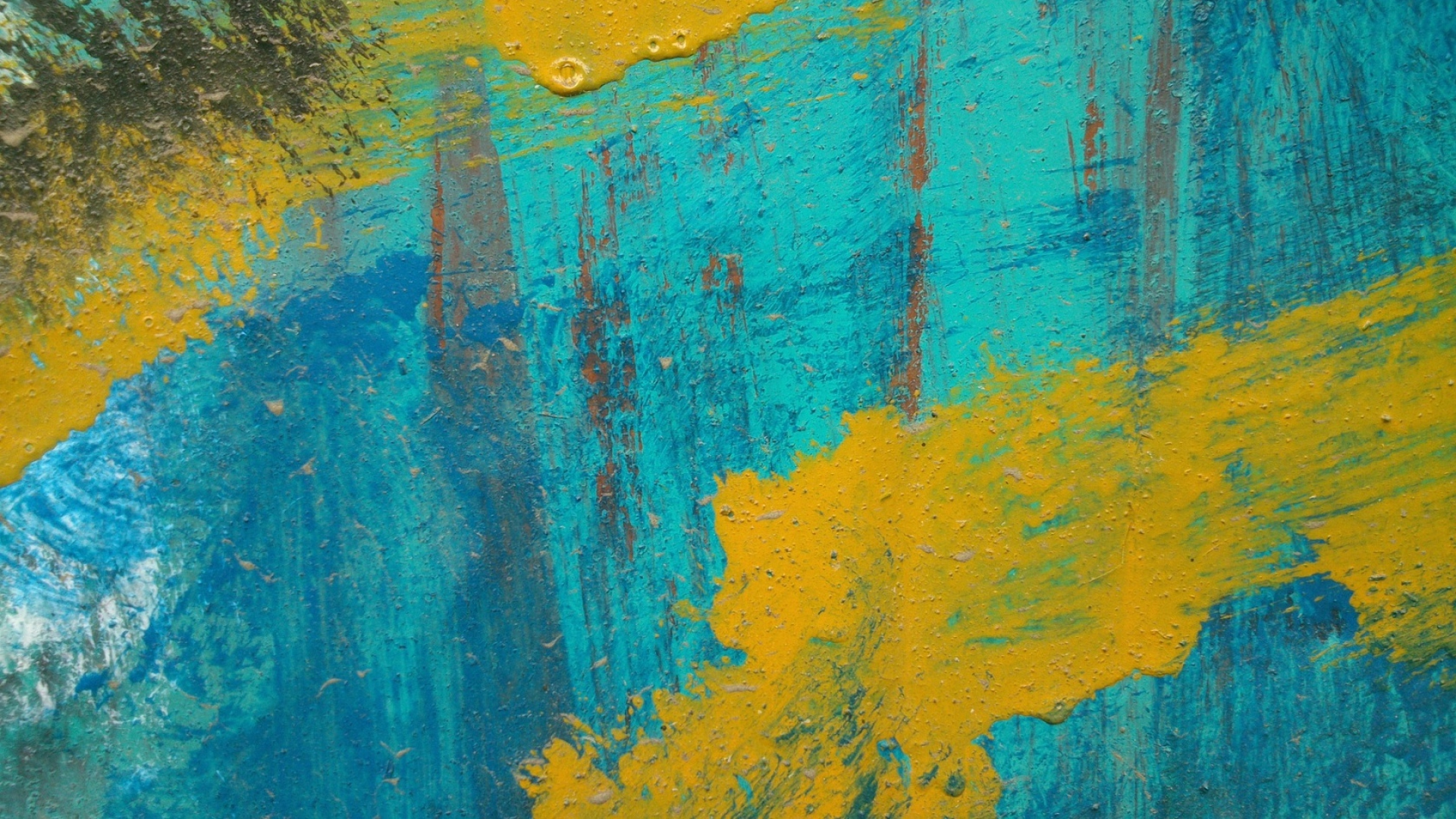 Download Wallpaper 1920x1080 paint, stripes, spots ...